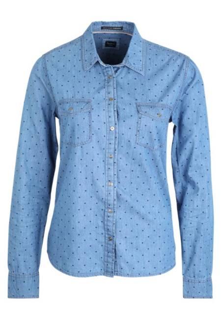 Pepe Jeans: Hemdbluse - azul