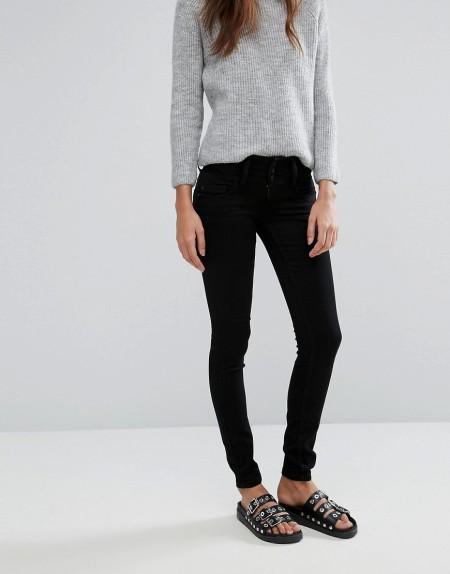 ONLY: Only - Anemone - Skinny-Jeans - Schwarz