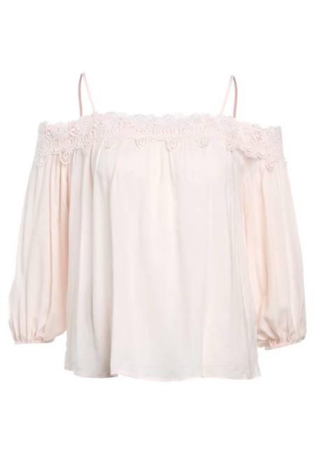 New Look: ZIGGY CROCHET - Bluse - english rose