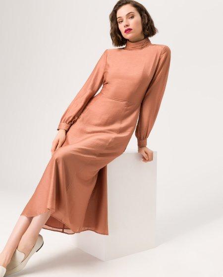 IVY & OAK: Kleid mit Faltenkragen