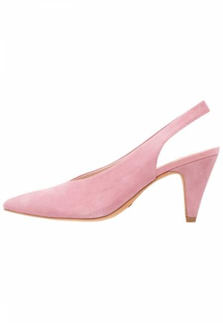 Topshop: JETSET V CUT SLING - Pumps - pink