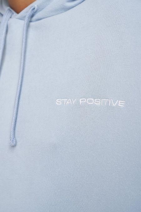 NU-IN: 100% Organic Stay Positive Hoodie