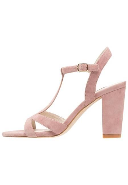 KIOMI: High Heel Sandaletten - nude