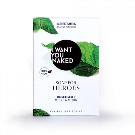I WANT YOU NAKED: SOAP FOR HEROES - DUSCHSEIFE MINZE & MOHN