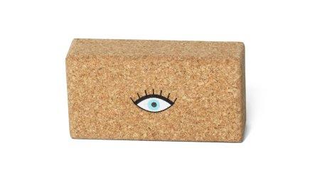 MAATÏ MAATÏ: Cork Yoga-Block Eye