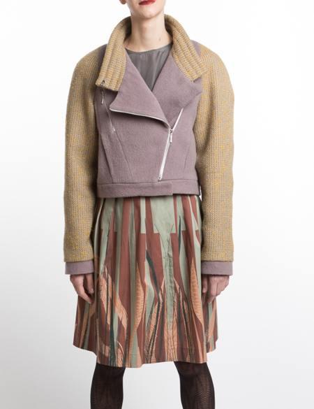 Clara Kaesdorf: Short Jacket Pastel