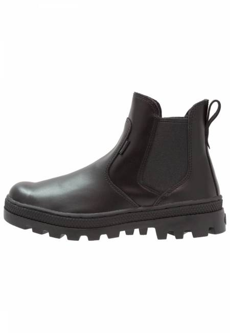 Palladium: Ankle Boot - black