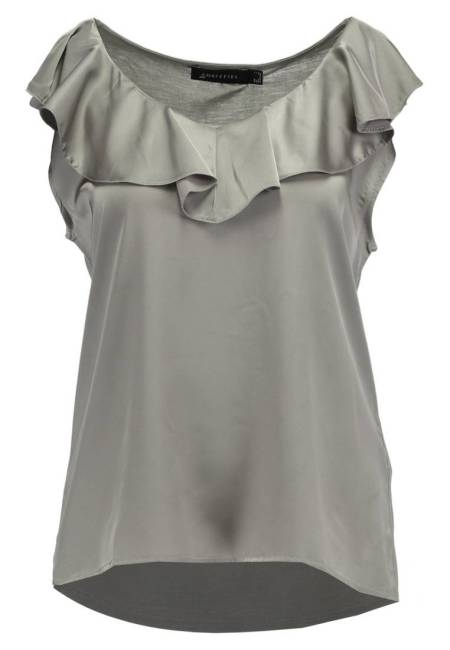 Cortefiel: VOLANTE - Bluse - beige