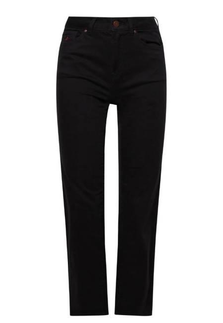edc by Esprit: Jeans Straight Leg - black