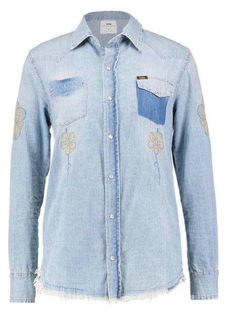 LOIS Jeans: LAURIE  - Hemdbluse - dirty bleach