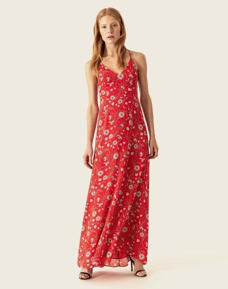 IVY & OAK: Maxi Kleid mit Spaghetti Trägern
