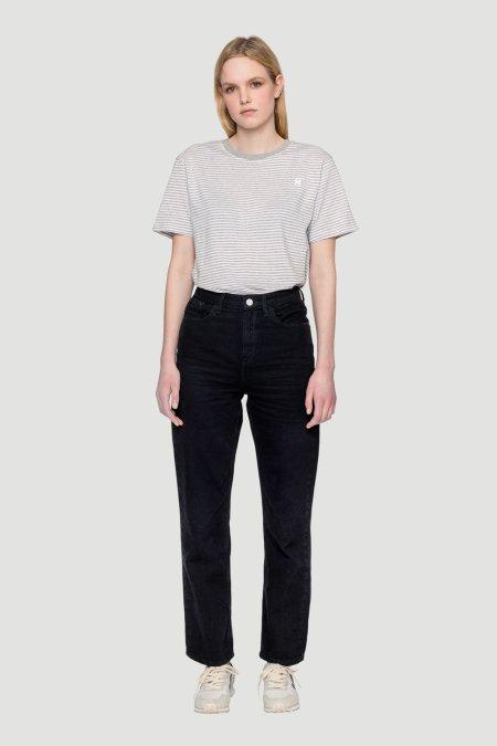 Rotholz: 'Rosy' Organic Jeans Schwarz