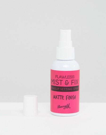 Barry M - Make Mist & Fix Matte Finish Make Up Setting Spray 50ml - Transparent