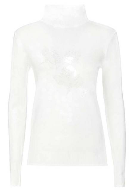 Guess: Strickpullover - white