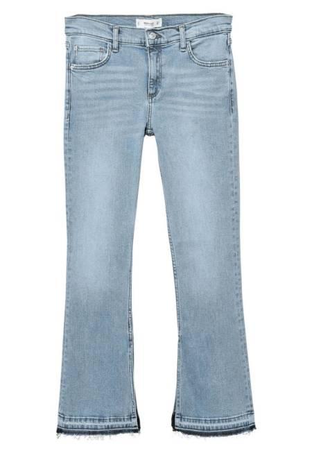 Mango: TRUMPET1 - Jeans Bootcut - medium blue