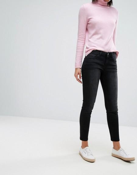 Esprit - Enge Jeans - Schwarz