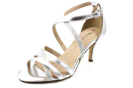 Tamaris Klassische Sandalen metallic 36