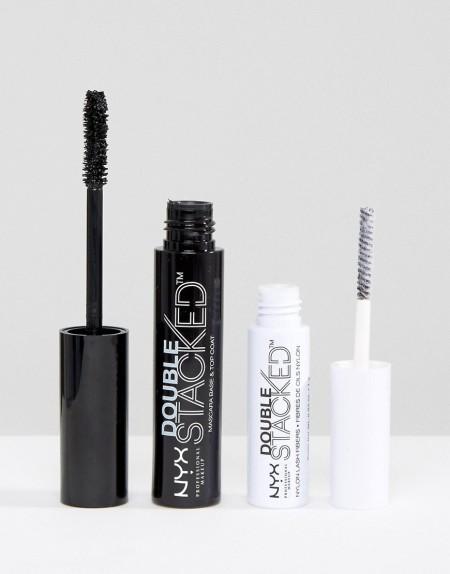 NYX Professional Makeup: NYX Professional Make-Up - Double Stacked - Wimperntusche - Schwarz