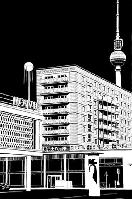 Blackout Cities: Cafe Moskau Berlin