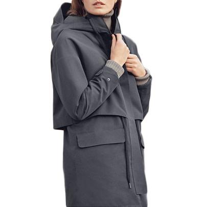 Tretorn Damen Arch Jacket Jet Black / Schwarz Wintermantel