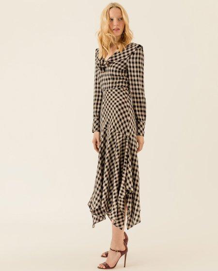 IVY & OAK: Midi Kleid mit Volants