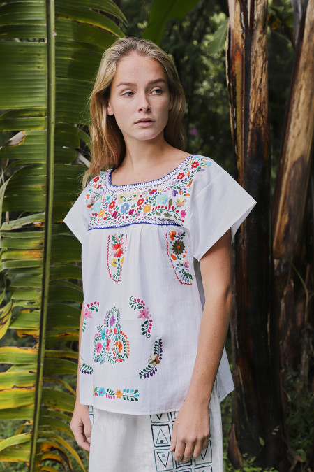 SANTA LUPITA: THE MOMMY´S MEXICAN BLOUSE