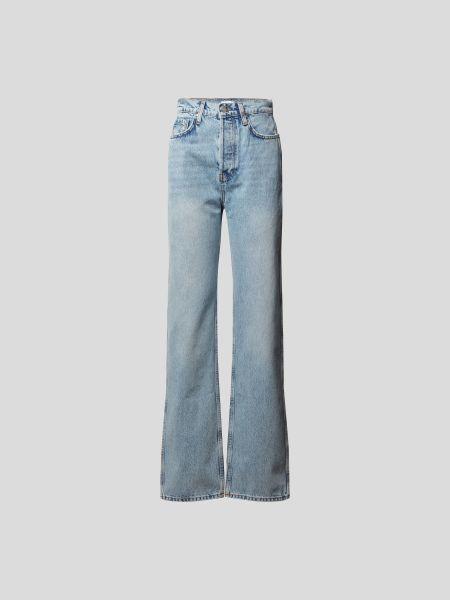 Anine Bing: Jeans mit Brand-Detail