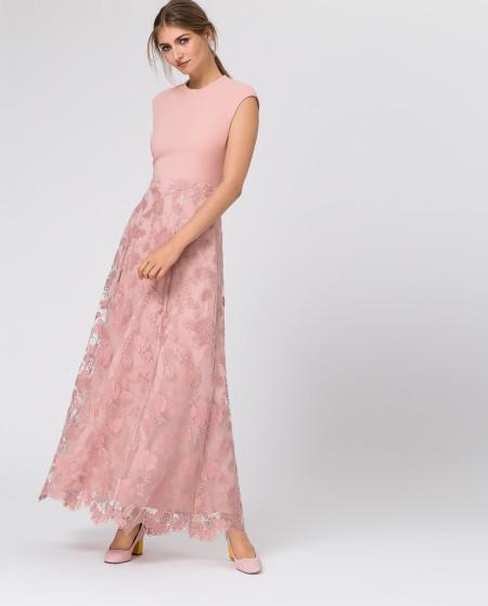 IVY & OAK: Embroidered Evening Skirt