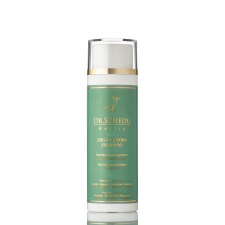 Dr. Schedu Berlin: Arganöl Set - Für trockenes strapaziertes Haar (Shampoo, Spülung und Intensivkur)