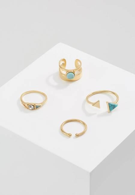 Ivyrevel: MOMBASA 4 PACK - Ring - gold-colourd