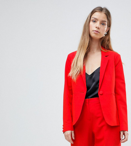 ASOS Petite: ASOS PETITE - The Tailored Mix-and-Match - Blazer - Rot