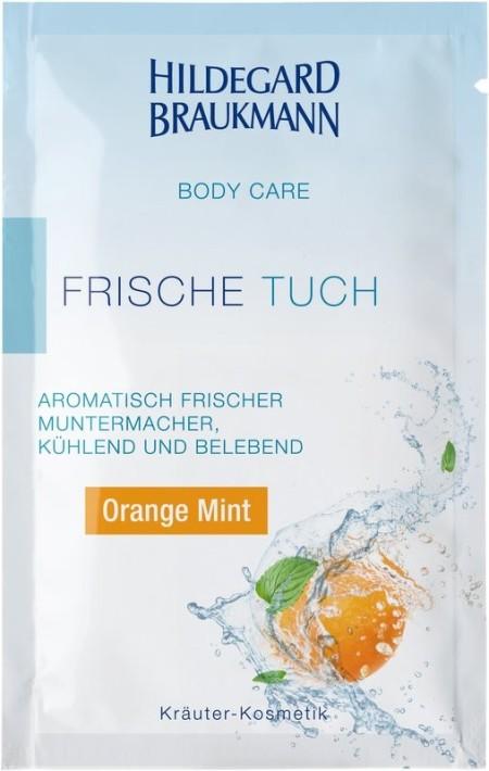 HILDEGARD BRAUKMANN: Orange Mint Frische Tücher, 10 Stück