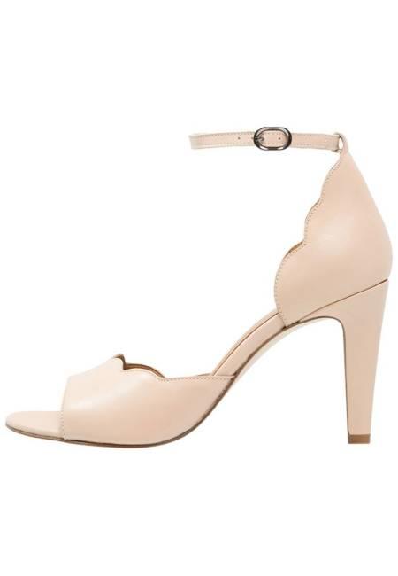 mint&berry: High Heel Sandaletten - nude