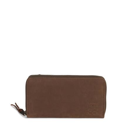 Herschel Thomas (RFID) Wallet NUBUCK Brown/Braun Leder Geldbörse