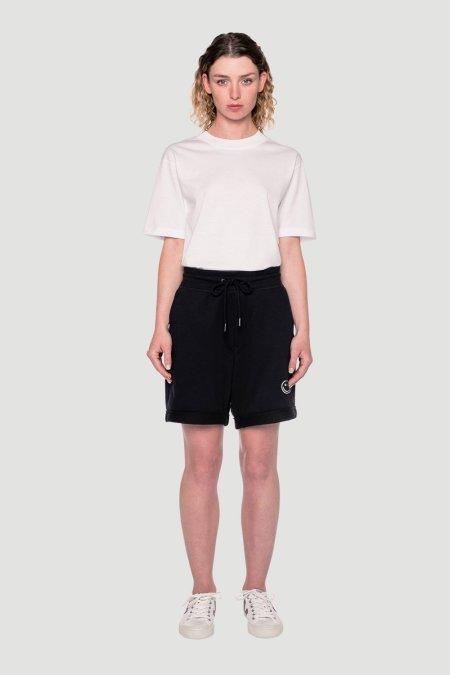 Rotholz: 'Smiley' Shorts Schwarz