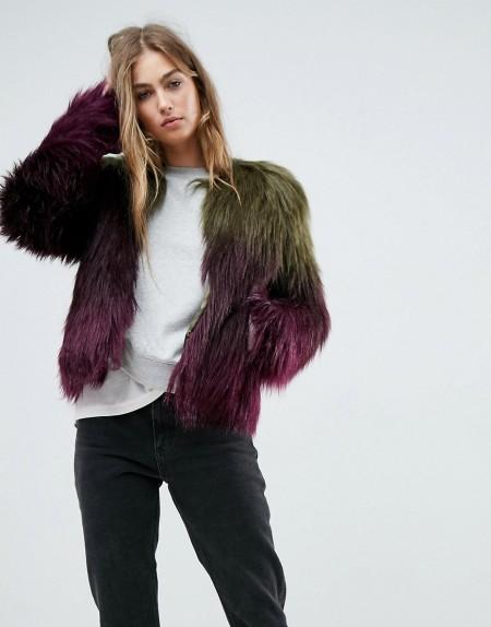 Unreal Fur - Liquid Fudge - Jacke - Mehrfarbig