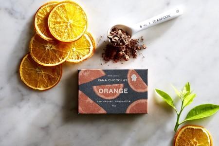 Pana Chocolate Orange 45 gram Bar