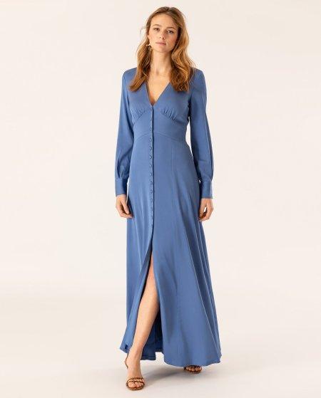 IVY & OAK: Maxi Kleid mit Knopfleiste