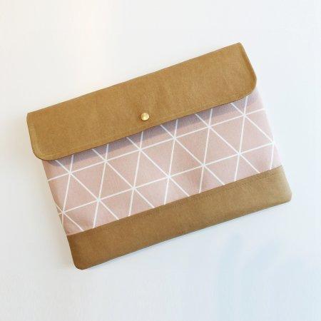 Kuratist Hamburg Oeko-Tex: Notebooktasche Rosa