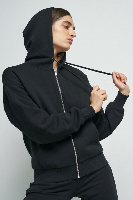 NU-IN: 100% Recycled Basic Zip Up Hoodie