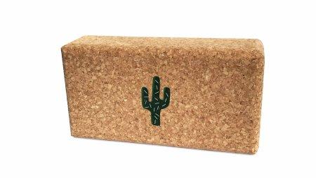 MAATÏ MAATÏ: Cork Yoga-Block Cactus