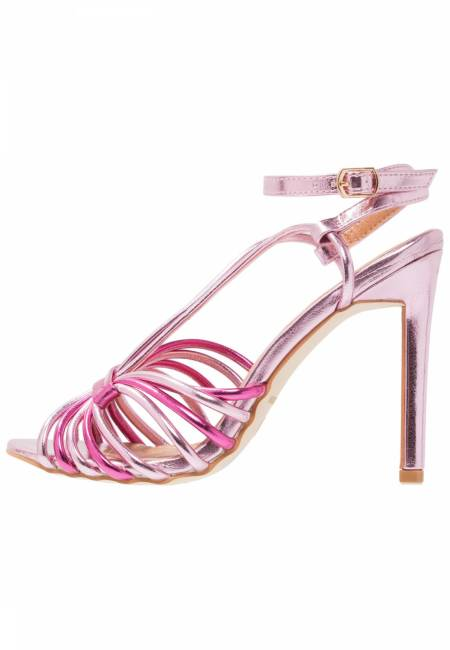 Bebo: BAYLEE - High Heel Sandaletten - hot pink/light pink