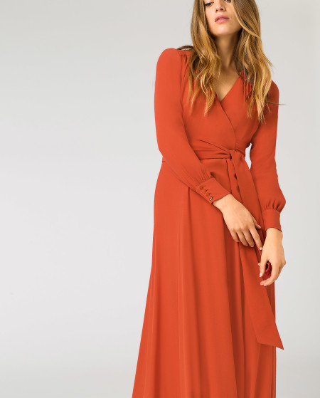 IVY & OAK: Wrap Evening Dress