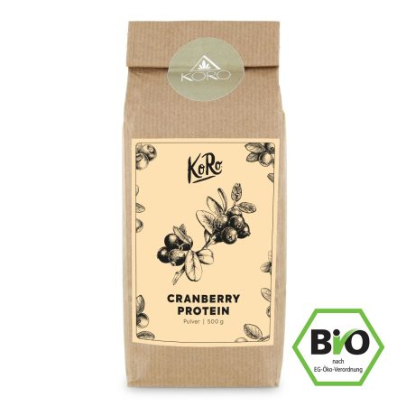 KoRo: Bio Cranberry Protein | 500 g
