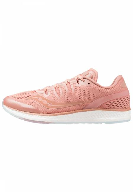 Saucony: FREEDOM ISO LS - Laufschuh Neutral - salmon