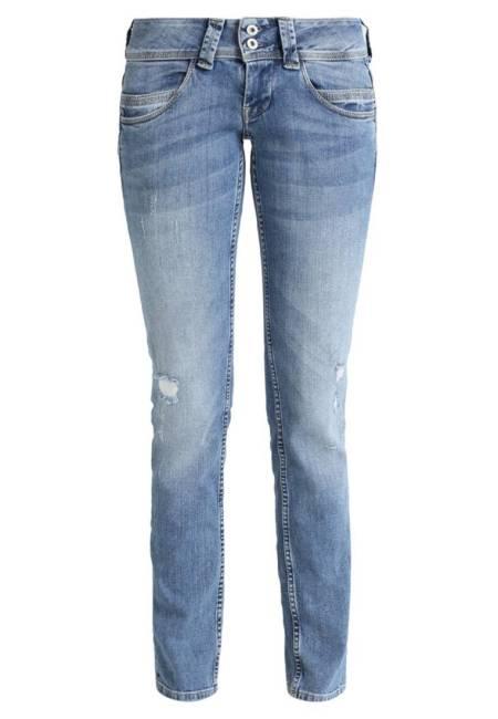 Pepe Jeans: VENUS - Jeans Straight Leg - denim