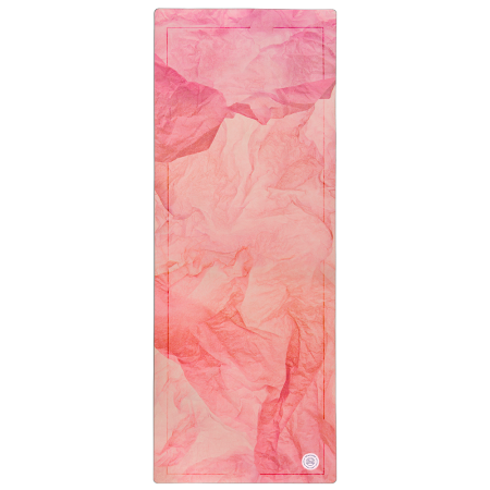 Grounded Factory: Stone Warm Pink Yoga Mat