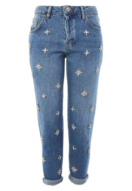 Topshop: GEMSTONE HAYDEN - Jeans Relaxed Fit - blue