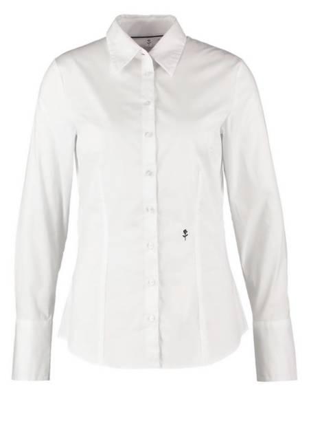 Seidensticker: Hemdbluse - weiß