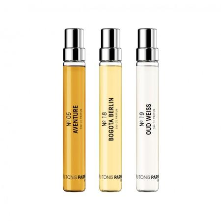"Frau Tonis Parfum: Scent-Box ""Edgy Berlin"" - 3x7,5ml"